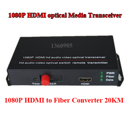 все цены на HDMI Fiber Optic Converter  HDMI Extender Video and Audio Transmission through Fiber Optic (single mode single fiber FC) онлайн