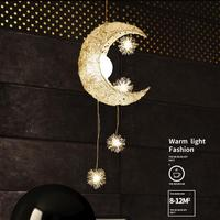 Nordic Pendant Light Fixtures Pendant Lamp Creative Aluminum Bird's Nest Modern Hanging Lights Glass Bird Egg Pending Lighting