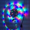 Novo Led luz de tira 5 v RGB iluminação de tira conduzida flexível 8mm 5 v RGB Led de iluminação de alta brilhante tiras de led