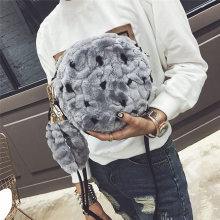 Hot Women Synthesic Bags Handbag Plush Clutch Crossbody Shoulder Messenger Bag Day Cluch Women's Handbags Bolsos Mujer #2567