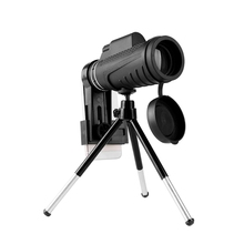 Promo offer Universal 10X Zoom Optic Lens Armoring Monocular Telescope Phone Camera Lens + Phone Holder Clip for iPhone for All Smart Phones