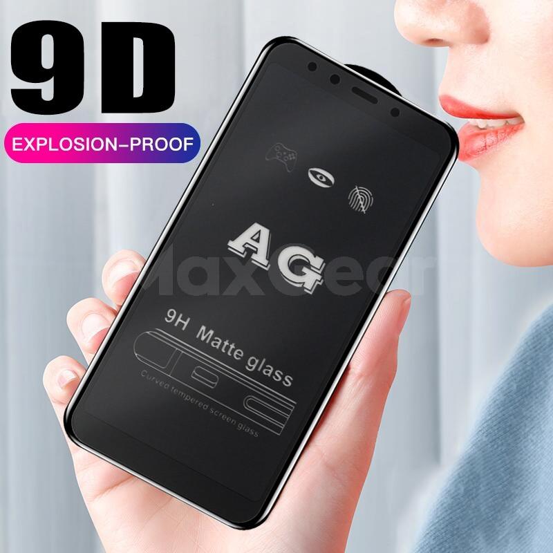 Matowy matowy 9D szkło hartowane dla Samsung Galaxy M10 M20 A10 A20 A30 A40 A50 A70 A90 ochronna do ekranu film blask