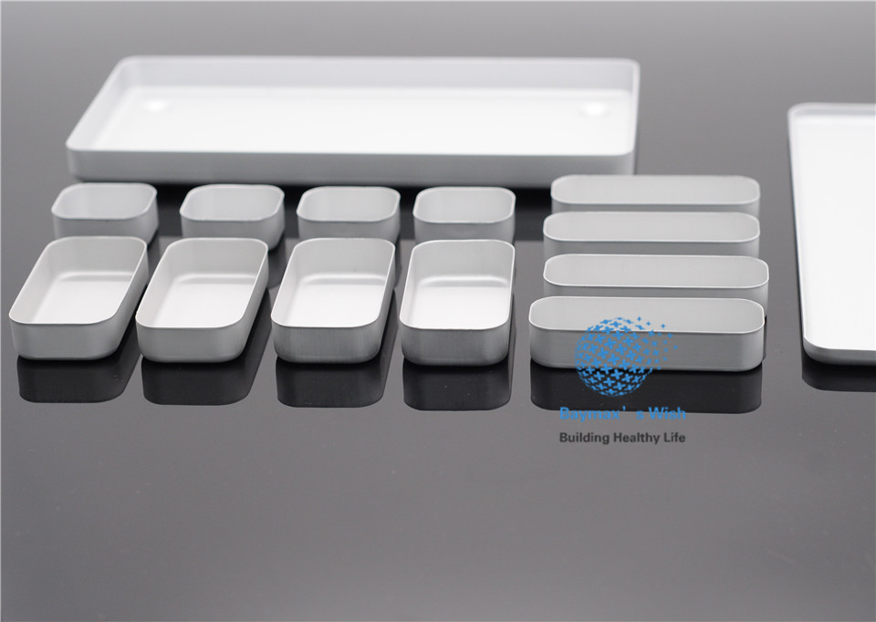 SALE Dental Lab Bur H/K File Holder Block Sterilizer Case Disinfection Endo Box Set dental sterilization box for gutta percha root canal file high speed bur disinfection box dental tool box disinfection box sl308