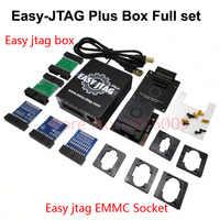 2020 новая версия Полный набор легкий Jtag plus box Easy-Jtag plus box + EMMC socket ForHTC/Huawei, LGMotorola, Samsung и SONY/ZTE