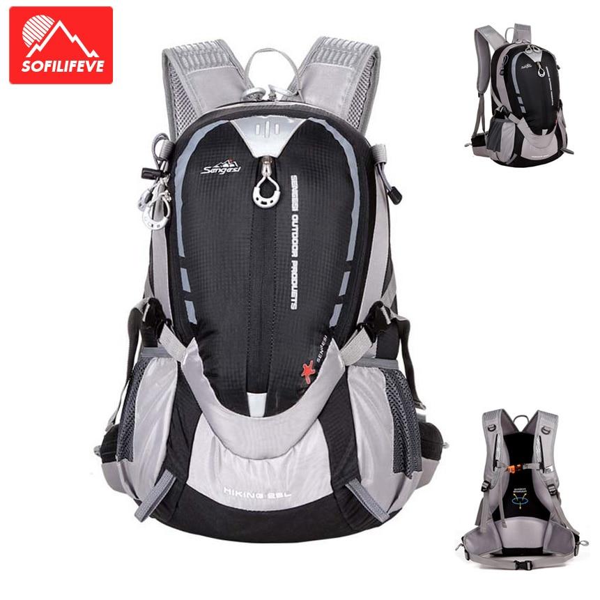 Sac à dos extérieur Montaineering Trekking hommes voyage bagages sac à dos Nylon 25L randonnée Camping sac sport équitation sacs à bandoulière