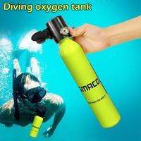 Mini Diving Oxygen Tank Underwater Snorkel Respirator Breathing Oxygen Bottle Adult Swimming Equipment
