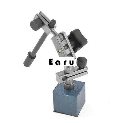 Universal Magnetic Base Dial Indicator Flexible Stand Holder Black 5.1 Long mini flexible magnetic base holder stand dial test indicator tool
