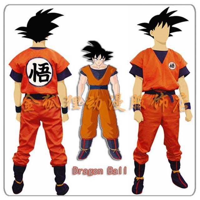 97e7fa11a60 Dragon Ball Son Goku Son Gohan Cosplay Costume Dragon Ball Z DBZ Super  Cosplay Clothes