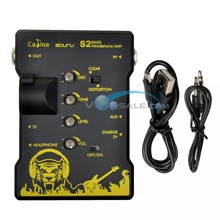 Caline S2 Bass Headphone AMP Guitar Accessories Guitar Parts XLR Output Recharge Headphone Good Quanlity