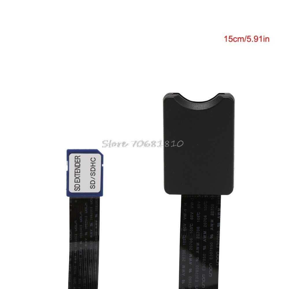 SD זכר נקבת SD SDHC SDXC כרטיס קורא הארכת מתאם כבל מאריך עבור טלפון המכונית GPS טלוויזיה 10/ 15/25/46cm