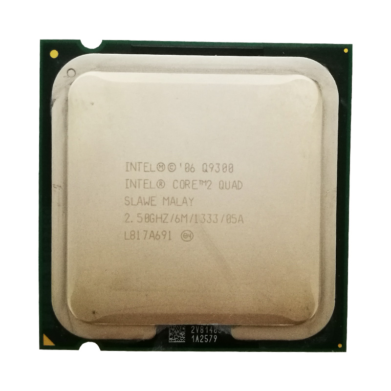 INTEL core2 q9300 Quad core <font><b>Processor</b></font> (2.5GHz /6MB Cache /FSB 1333 ) Intel LGA775 quad core Cpu image