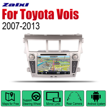 ZaiXi Android 2 Din Auto Radio DVD For Toyota Vois 2007~2013 Car Multimedia Player GPS Navigation System Radio Stereo liislee for toyota caldina t240 2002 2007 radio cd dvd player