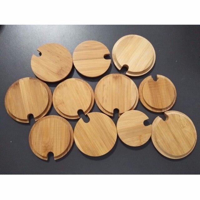 Us1 Verschiedene 8verschiedene Deckel Kaffeetasse Bambus Abdeckung Größen Tasseamp; Glas Ooden Becher IWED29H