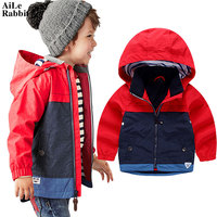 AiLe Rabbit 2017 Children S Coat Boy Girl Fall New Zipper Jacket Cardigan Windbreaker Kids Clothing