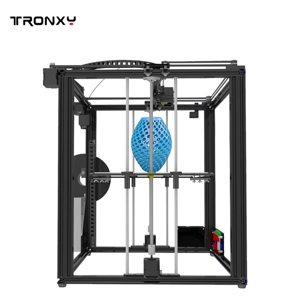 Tronxy X5S X5SA Large 3D Printer Double Z Axis Design High Precision diy kit LCD 3d printing Large Size 330*330*400mm 3D Printer - 4
