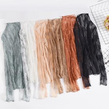 1 Mulheres verão rendas blusas bordadas florais camisa senhoras tops blusas de malha sexy transparente elegante transparente preto camisa 1
