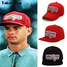 Takerlama 1994 Bubba Gump Shrimp CO. Бейсболка Форрест Гамп костюм косплей Бейсболка с вышивкой Мужская и женская летняя кепка