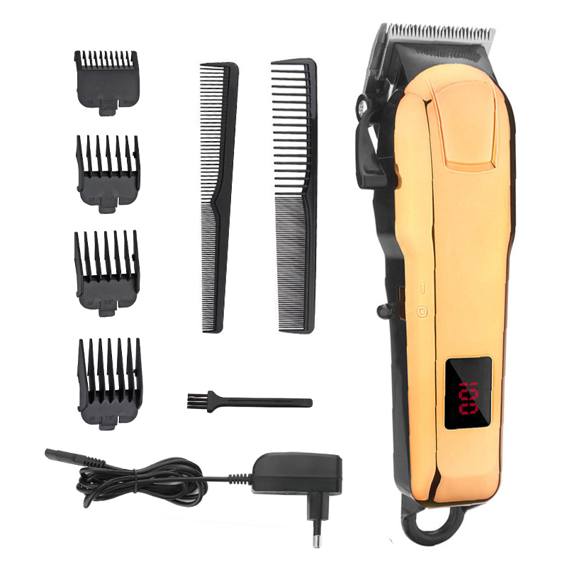 Image 5 - KIKI NEWGAIN rechargeable Professional Hair cutter Hair Trimmer 2000 mAh Lithium battery 100 240V NG 888 NG 777 with Lcd display-in Hair Trimmers from Home Appliances
