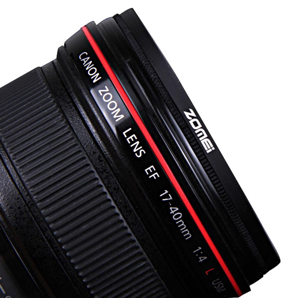 Zomei HD High Definition CPL Circular Polarizer Polarizing Filter for DSLR Camera Lens 49mm 52mm 58mm 62mm 67mm 77mm 82mm 1