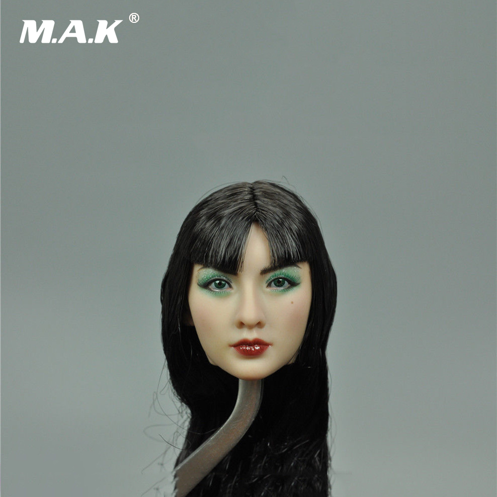 1/6 Scale Asia Beautiful Female Head Sculpt Girl Head Model Toys for 12 inches Action Figure 1 6 scale asian female head sculpt with black long hair models toys for 12 female action figure