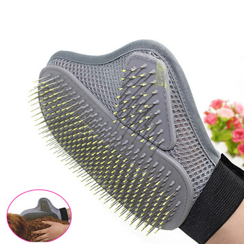 Silicone Pet Grooming Gloves for Deshedding Long Haired Dogs and Cats Suitable for Soft and Comfortable Messaging of Pets