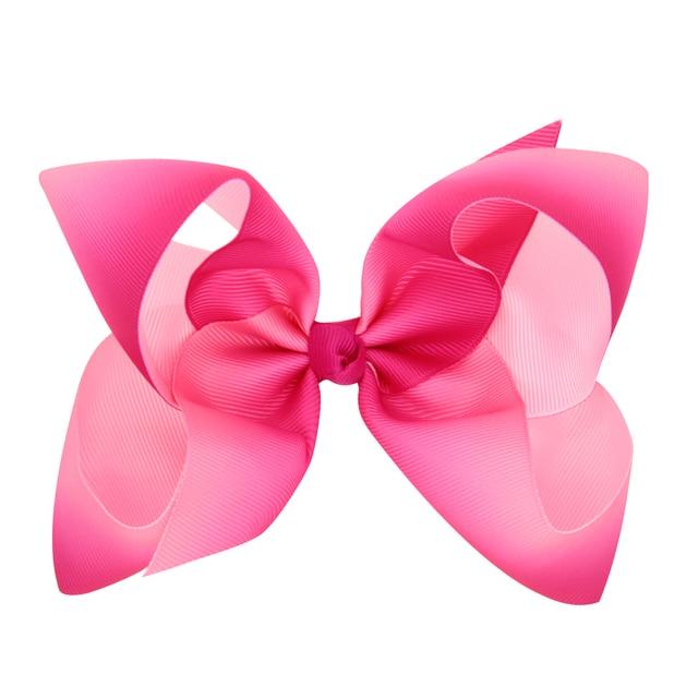 100pcs dhl free shipping jojo siwa pink hair bow beauty accessories jojo bows