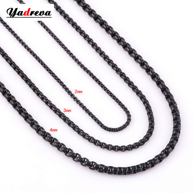 products stately curb steel d necklace link hsn chain