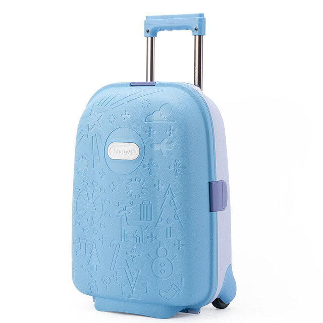 6df60851cf16 BeaSumore Cute Cartoon Children Rolling Luggage Kid high-grade Suitcase  Wheels Trolley Case Cabin Trunk