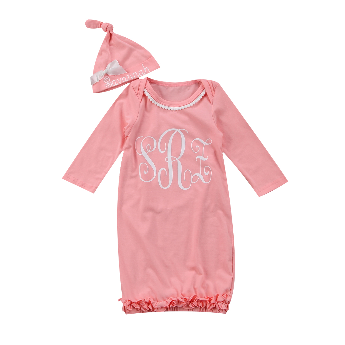 Baby Girls Long Sleeve Kids Winter Autumn Warm Sleeping Bag Cotton Soft Pink Clothes For Infant