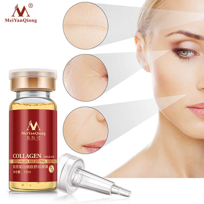 Collage Argireline+aloe vera+collagen rejuvenation anti wrinkle Serum for the face