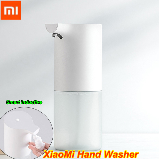 Dispensador de jabón de manos Xiaomi Mijia, dispensador de jabón de manos automático con Sensor infrarrojo e inducción de espuma cada 100% s para casa inteligente, 0,25 Original