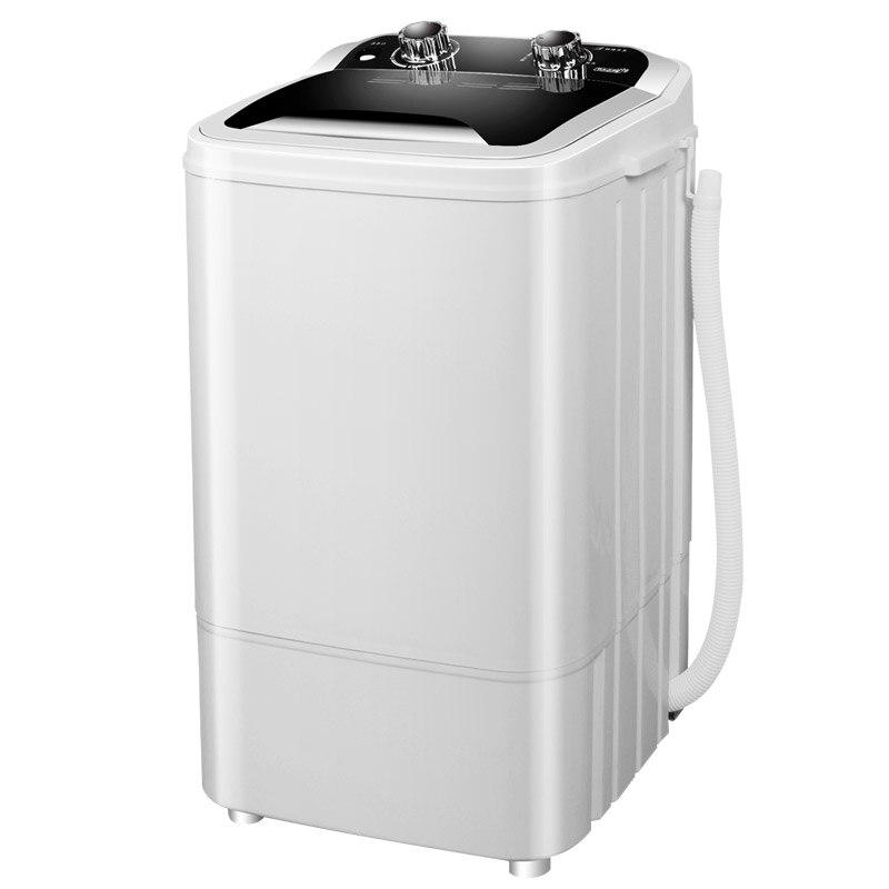 Мини УФ антибактериальные шайба Электрический одежда стиральная машина одного Ванна полуавтоматическая компактная с Медь мотор для детского