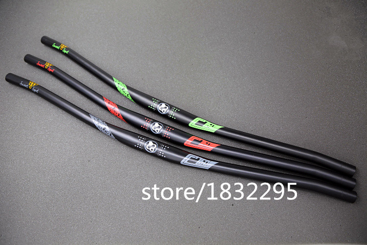 FOURIERS HB-MB016 highway Aluminum alloy bicycle  road handlebar handlebar  mtbhandlebar 31.8*680/760mm handlebar 215g fouriers mtb handlebar hb mb016 cc mountain bicycle handlebar alloy 7050 t73 bike handlebars 31 8x680 760mm