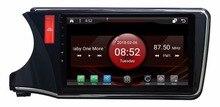 2 ГБ Оперативная память 8-ядерный Android 7.1.2 автомобиля GPS для Honda City 2015 LHD сенсорный экран автомобиля Радио Стерео навигация 3G зеркало ссылка DVR