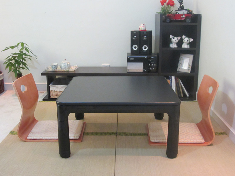 Good Aliexpress.com : Buy Japanese Kotatsu Table Small 60cm Reversible Top  Black/White Living Room Furniture Foot Warmer Heated Low Coffee Table  Designer From ...