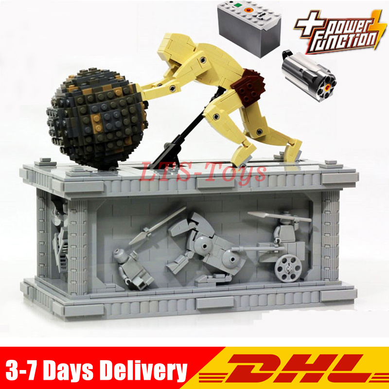 DHL Lepin 23017 1462Pcs the Movie Series 1518 MOC Le Mythe de Sisyphe Building Blocks Bricks Model Compatible Legoings new lepin 23017 1462pcs movie series moc le mythe de sisyphe building blocks bricks to holiday toys gift