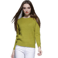 High Quality Cashmere Sweater Winter Womens Pullover Solid Knitted Sweater Top For Women Autumn Woman Oversized