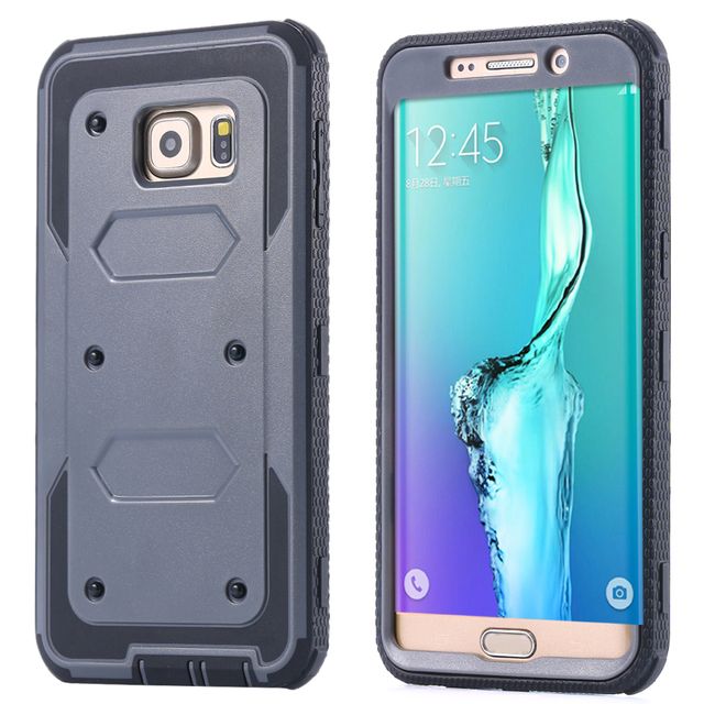 1bde82e6d90 Newest PC + TPU Hard Case Cover For Samsung Galaxy S6 Edge Plus Hybrid Dual  Layer