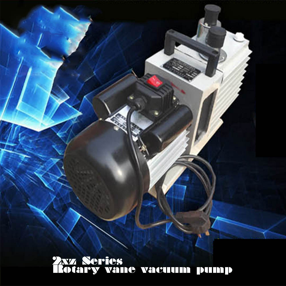 4CFM 220V60HZ 2XZ-2 small volume direct coupled rotary vane oil vacuum pump with competitive prices