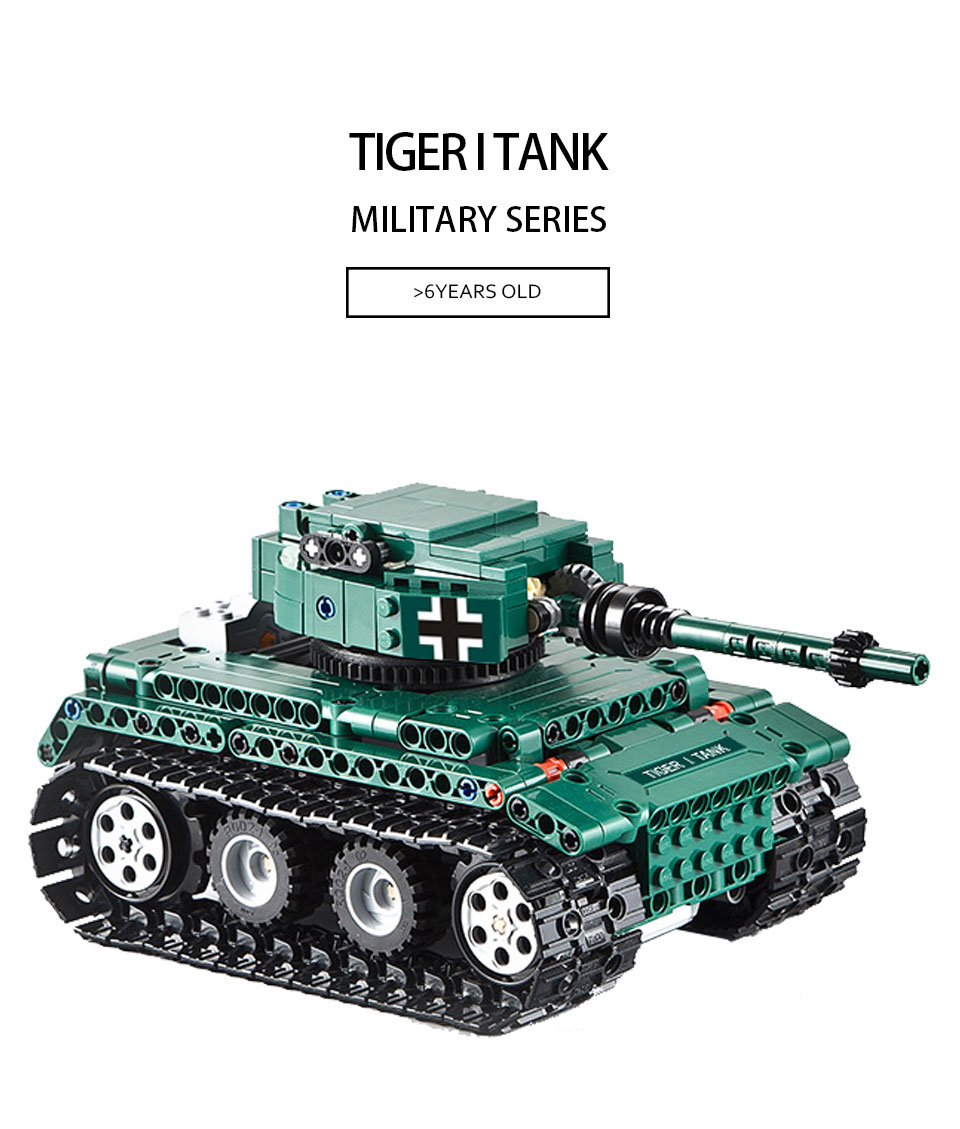 Technic Series 313pcs Rc Tank Model Building Blocks Set With Motor Warii Bricks Toys Gift For Kid Compatible With Legoes Be Friendly In Use Toys & Hobbies Model Building