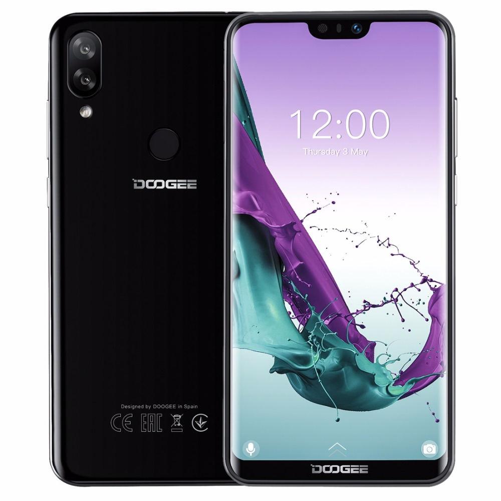 DOOGEE N10 Mobile Phone 16 0MP Front Camera 3360mAh Android 8 1 4G LTE Octa Core