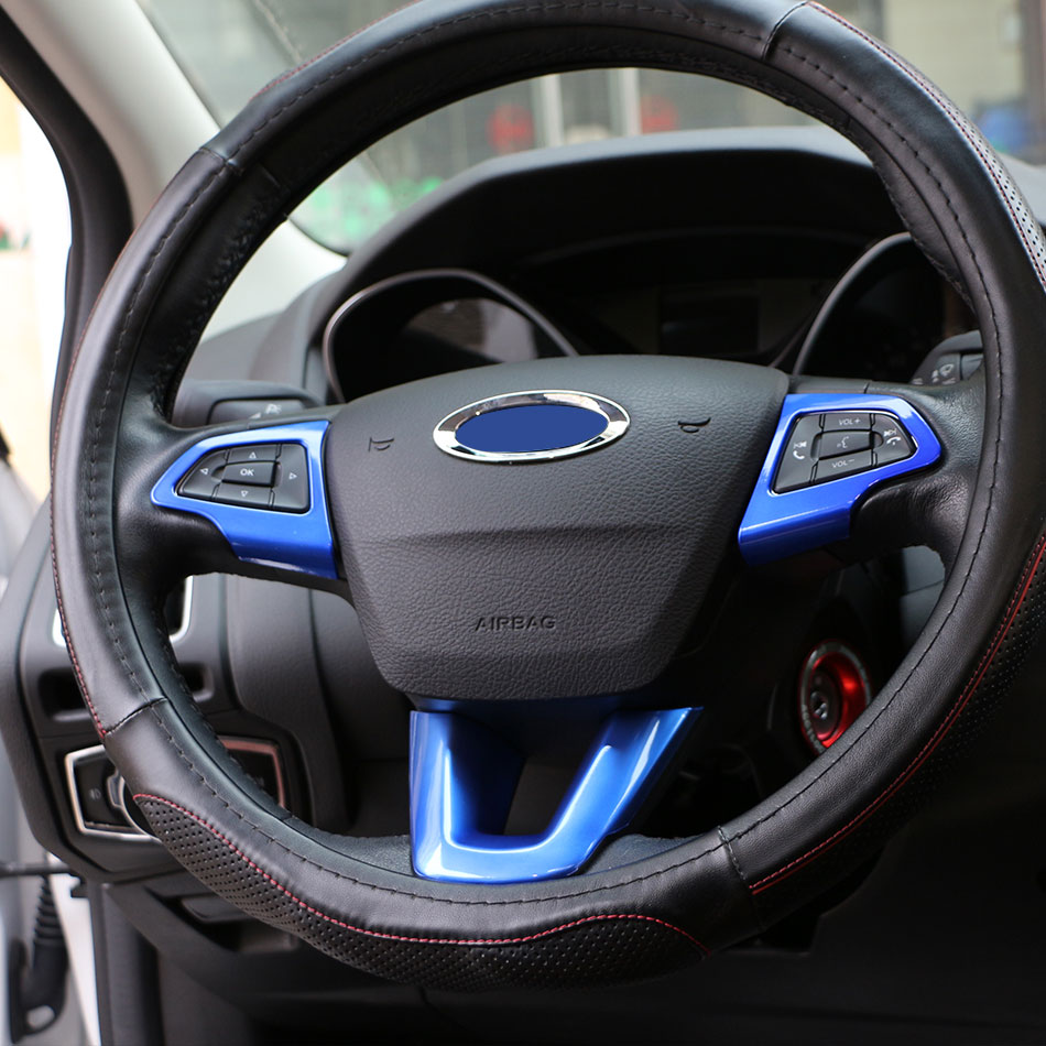 Ford Ecosport Interior Top View: Color My Life Car Interior Steering Wheel Protection Cover