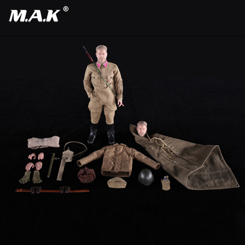 For Collection 1/6 Scale DID R80102 WWII Russian Sniper Battle of Stalingrad Koulikov Ron Perlman with 2 heads full set the collection r