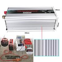 3KW 3000 Вт Преобразователь частоты 3000 Вт чистая синусоида DC 12/24/48 В к AC 110 В /220 В сетки галстук преобразователь пик 6000 Вт 50 Гц/60 Гц.