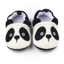 Горячие продажи panada и медведь шерсть мягкая подошва детская обувь детская обувь