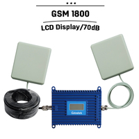 LCD Display GSM1800 Signal Booster DCS Signal Repeater Repeter 1800mhz 1 Set