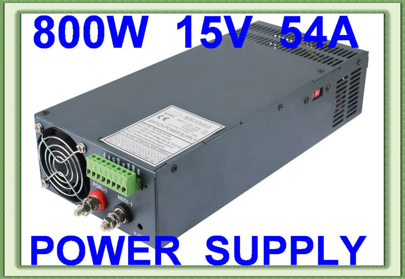 Best price high power series SCN-800-15 AC DC single output switching power supply new lp2k series contactor lp2k06015 lp2k06015md lp2 k06015md 220v dc