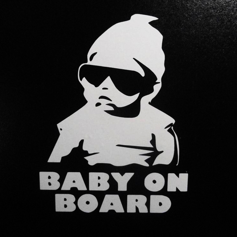 Wholesale 30pcs/lot Baby On Board Carlos Funny Hangover Car Truck Window Sticker Vinyl Decal