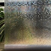 3D текстура 3D стекло отражающая фольга лазер без клея Электростатическая клейкая пленка украшение дома стекло украшение окна