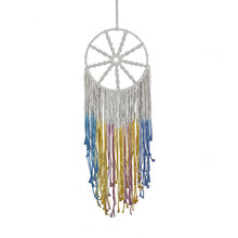 Bohemian tapestry Original design cotton hand-woven dream catcher for wedding